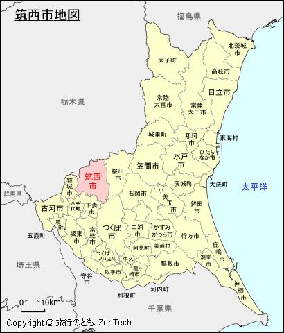 地図 茨城 県