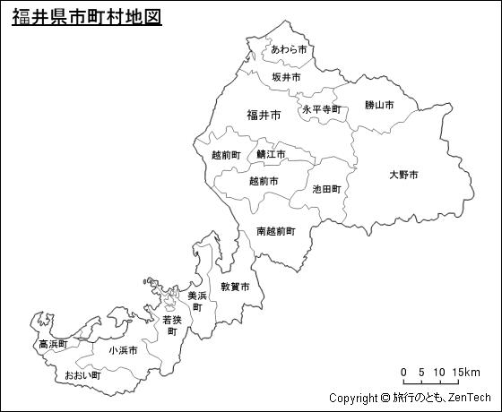「福井県 地図」の画像検索結果