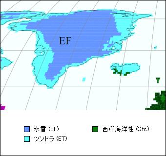 グリーン ランド 地図