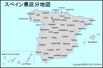 スペイン地図 - 旅行のとも、Zen...
